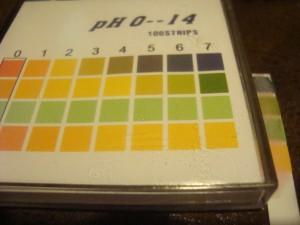 papierki do zbadania pH szamponu