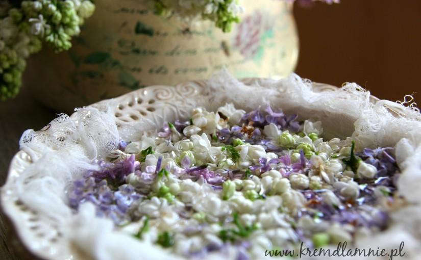 Jak zrobić mgiełkę do twarzy z kwiatów bzu (lilaka)?