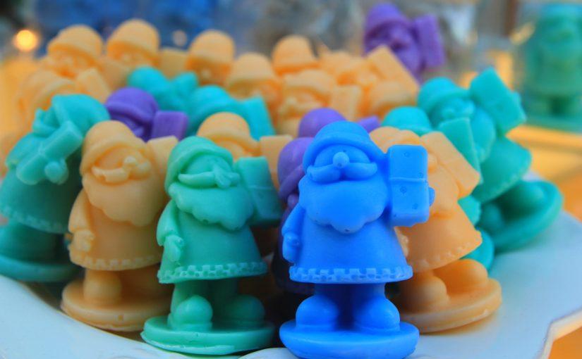 Nasze mydełka Happy Soaps w drogeriach HEBE